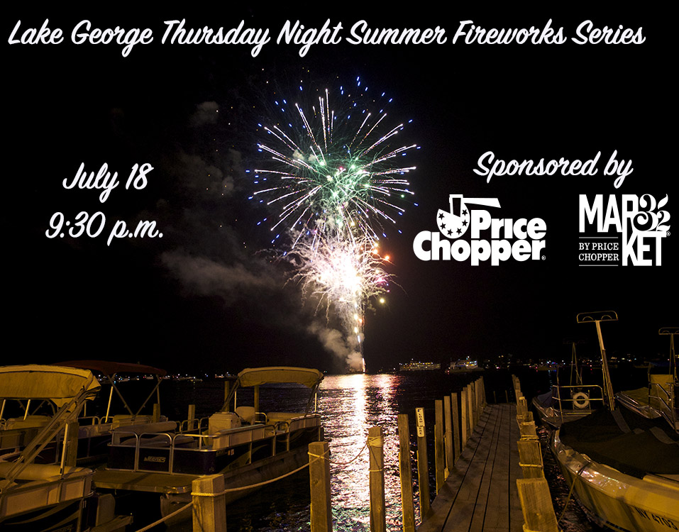 Price Chopper Sponsors July 18 Fireworks