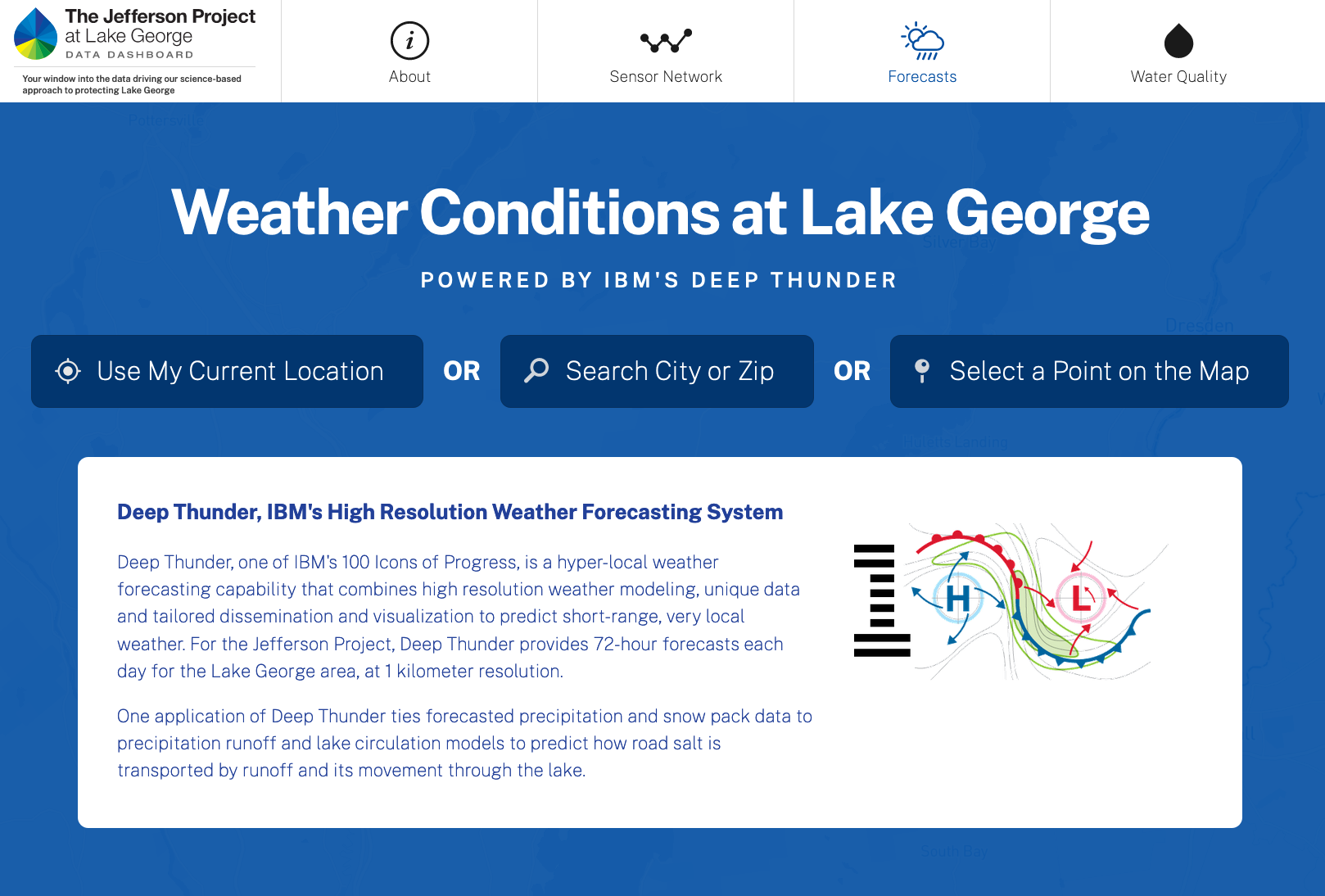 Jefferson Project Launches New Digital Dashboard with Real-Time Weather and Water Quality Data