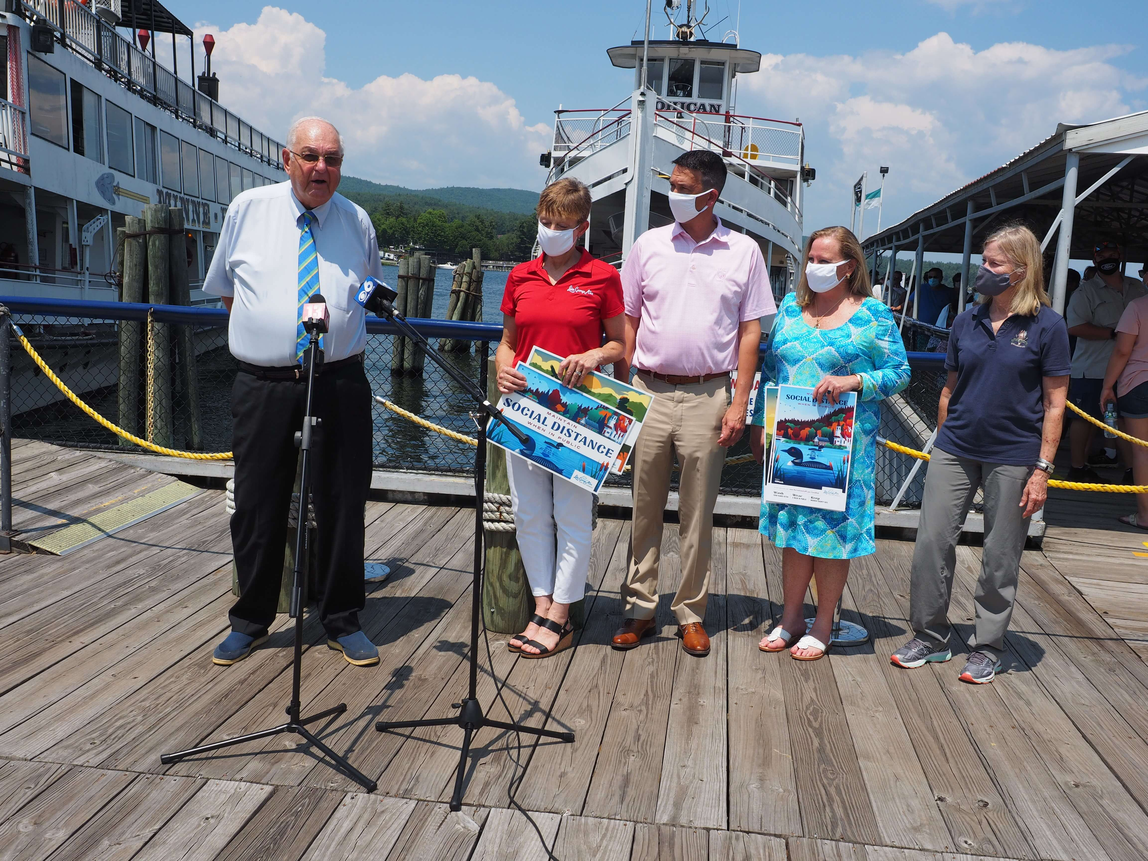 Lake George Area Prepares for Independence Day with Safe Reopening of Attractions, Hiring Push